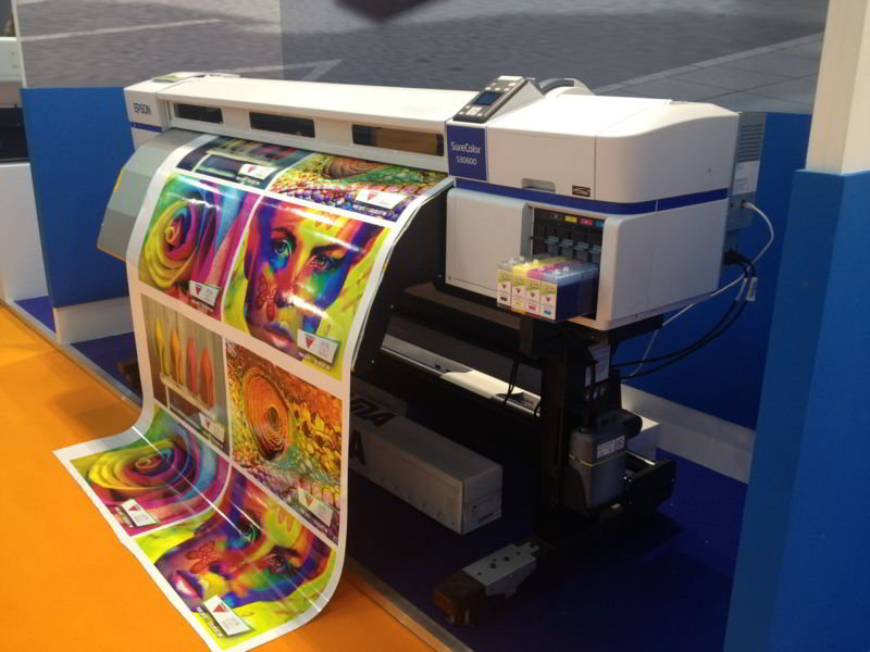 Full color printing press
